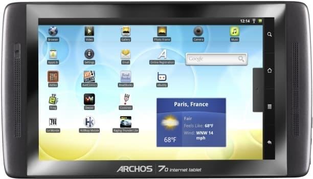 archos 5 internet tablet custom firmware